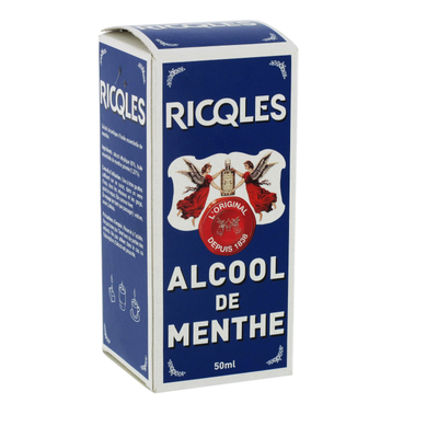 RICQLES ALCOOL de MENTHE Flacon 50ML