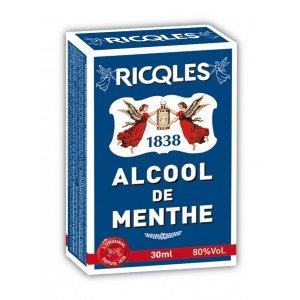 RICQLES ALCOOL de MENTHE Flacon POCHE 30ML