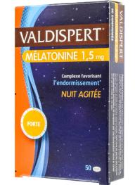 VALDISPERT MELATONINE 1,5mg NUIT AGITEE 50cps