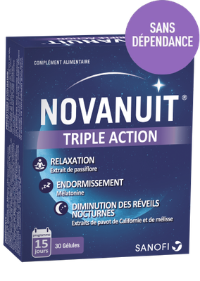 NOVANUIT TRIPLE ACTION 30Gélules