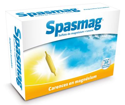 SPASMAG Magnésium, Levure - 60 GELULES