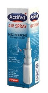 ACTIFED AIR SPRAY NEZ BOUCHE 10ML
