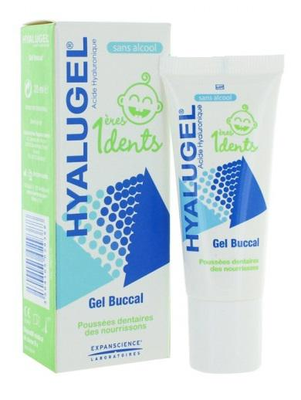 HYALUGEL PREMIERES DENTS Gel buccal 20ml