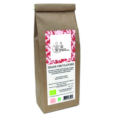 TISANE MELANGE CIRCULATOIRE 100g - Pharmacie Marronniers