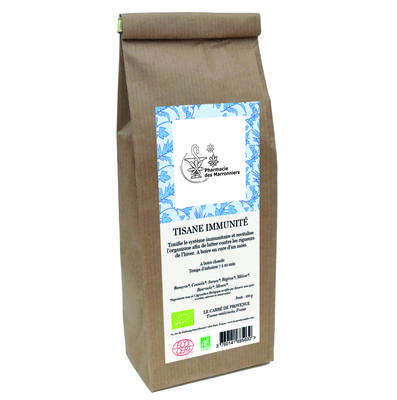 TISANE MELANGE IMMUNITE 100g - Pharmacie Marronniers