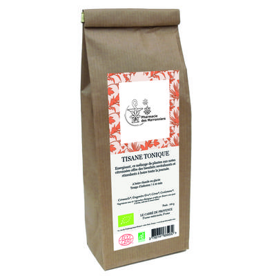 TISANE MELANGE TONIQUE 100g - Pharmacie Marronniers
