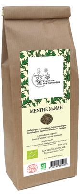 TISANE MENTHE NANAH BIO 100g - Pharmacie Marronniers