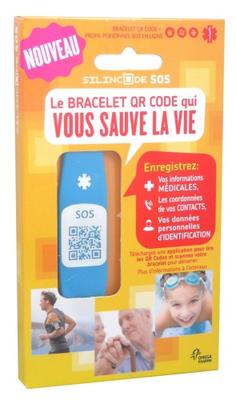 BRACELET SOS SILINCODE BLEU TAILLE XS
