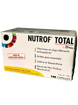 NUTROF TOTAL CAPS 180