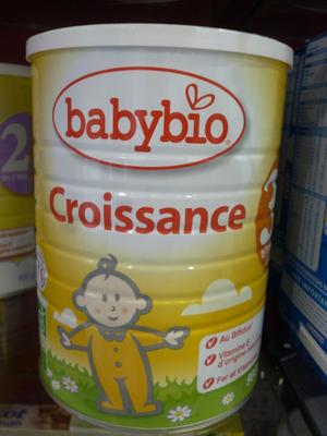 BABYBIO CROISSANCE LAIT PDR900G