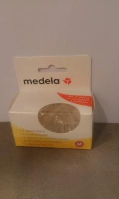 TETINE MEDELA DEBIT M SILIC X2