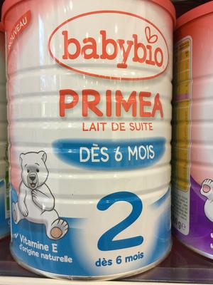 BABYBIO PRIMEA 2