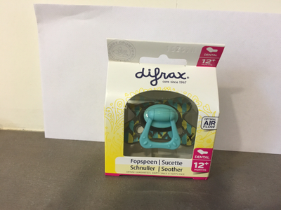 DIFRAX Sucette dental 12 mois+