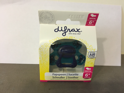 DIFRAX Sucette dental 6 mois+