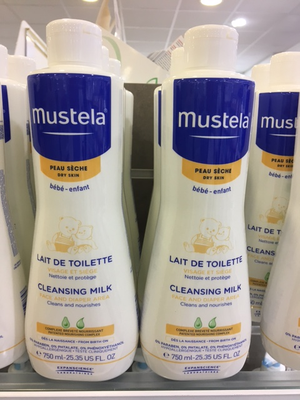 MUSTELA BB LAIT TOIL FL 750ML