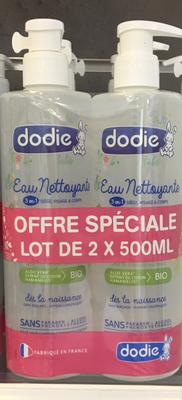 DODIE EAU NET BIO 500ML DUO