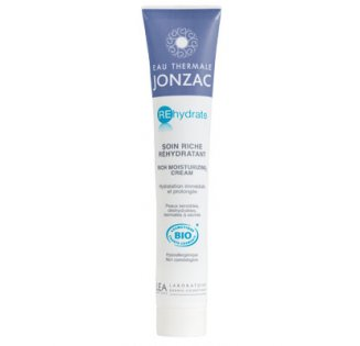 JONZAC SOIN REHYDRATE SOIN RICHE PEAUX NORMALES A SECHES 50ML