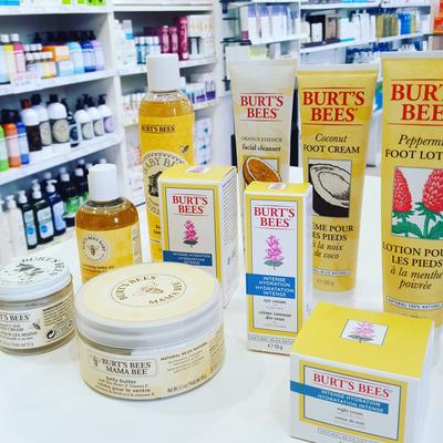 Les produits Burt's Bee