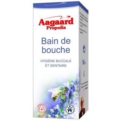 BAIN DE BOUCHE AAGAARD PROPOLIS 50 ML