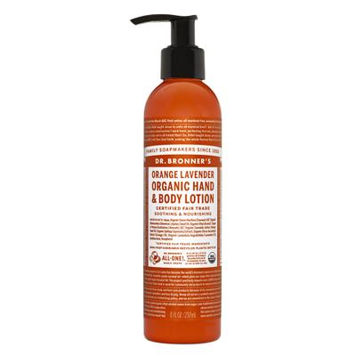 Lait hydratant bio Orange-Lavande Dr.Bronner's 240ml