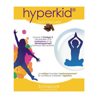 HYPERKID SYNAPSYA 60 gélules gout chocolat
