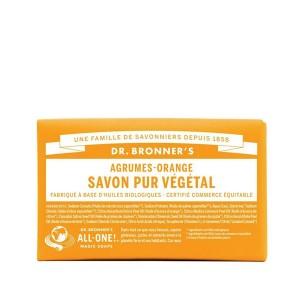 Savon Pur Végétal agrumes Dr.Bronner's 140G
