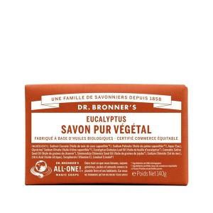 Savon Pur Végétal eucalyptus Dr.Bronner's 140G