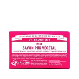 Savon Pur Végétal Rose Dr.Bronner's 140G