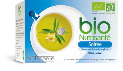 NUTRISANTE INFUSION BIO SOIREE 20 SACHETS