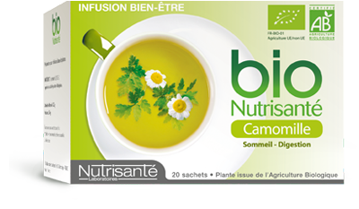 NUTRISANTE INFUSION BIO CAMOMILLE 20 SACHETS