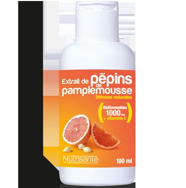 EXTRAIT DE PEPINS PAMPLEMOUSSE SOL BUV NUTRISANTE 100 ML