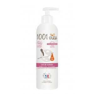 LAIT DE TOILETTE BIO TOLERANCE 1001 VIES 400ML