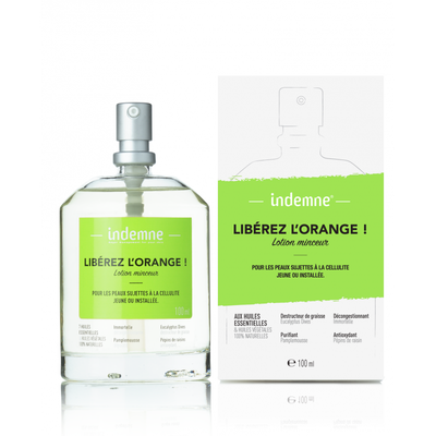 INDEMNE LOTION MINCEUR LIBÉREZ L'ORANGE ! 100ml