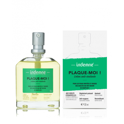 INDEMNE LOTION ANTI-IRRITANTE PLAQUE-MOI ! 50ml