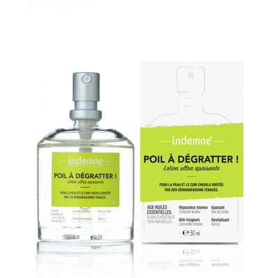 INDEMNE LOTION ULTRA APAISANTE POIL A DEGRATTER ! 50ml