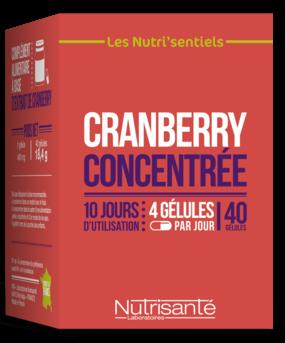 NUTRISANTE CRANBERRY CONCENTRÉE