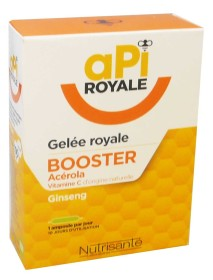 NUTRISANTE API ROYALE GELEE ROYALE BOOSTER 10 AMPOULES