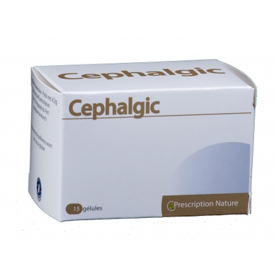 Pharma Nature Cephalgic 15 gélules
