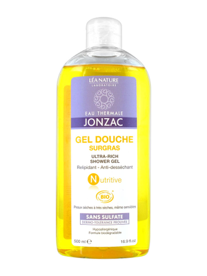 Jonzac Nutritive Gel Douche Surgras 500 ml