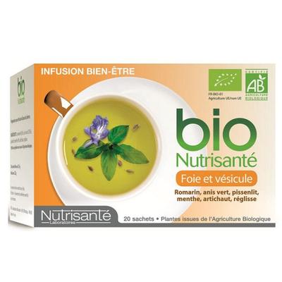 NUTRISANTE INFUSION FOIE VESICULE SACH20