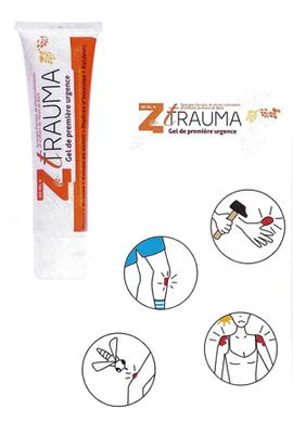 Z-TRAUMA gel de première urgence 60ml