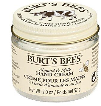 Burt's Bees Crème pour les Mains à la Cire d'abeille et au lait d'amande 57g