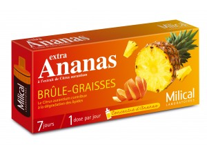 Milical Extra Ananas 7 doses = 7 jours
