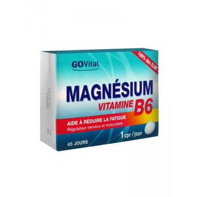 Urgo  GoVital Magnésium Vitamine B6  (réduire la fatigue)
