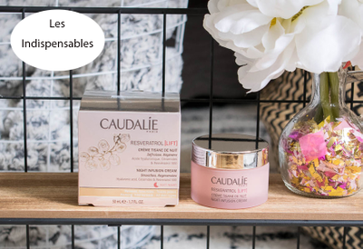 Caudalie, Resveratrol [lift], crème tisane de nuit 50ml