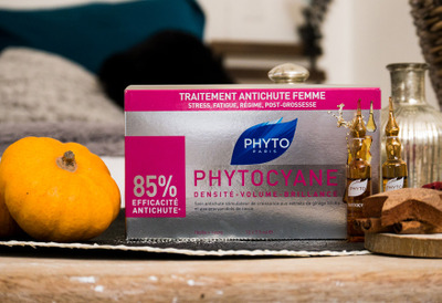 Phyto Phytocyane Soin Antichute Stimulateur de Croissance Femme 7,5MLX12