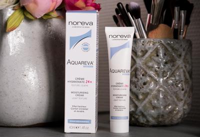 Noreva, Aquareva crème hydratante 24h texture légère 40 ml