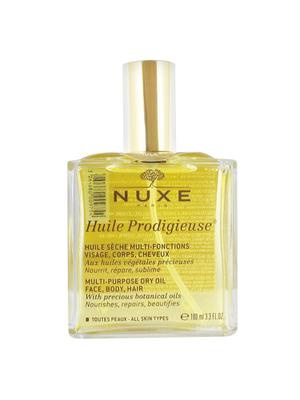 Nuxe, Huile prodigieuse sèche multi-fontions, visage corps et cheveux 100ml