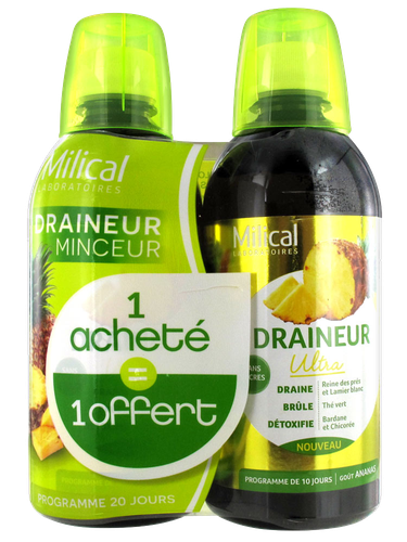 MILICAL DRAINEUR ANANAS LOT 2