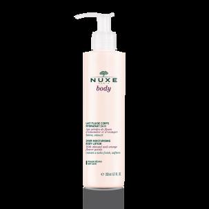 Nuxe Body, lait fluide hydratant 24h, 200ml